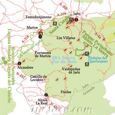 Tur smo ornitol gico en la sierra sur de ja n tur smo ornitol gico en la provincia de ja n - Tiempo los villares jaen ...